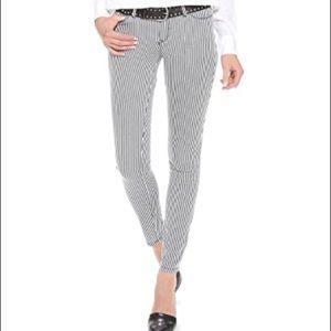 Club Monaco Carolina Pinstripe Skinny Jeans Sz 10